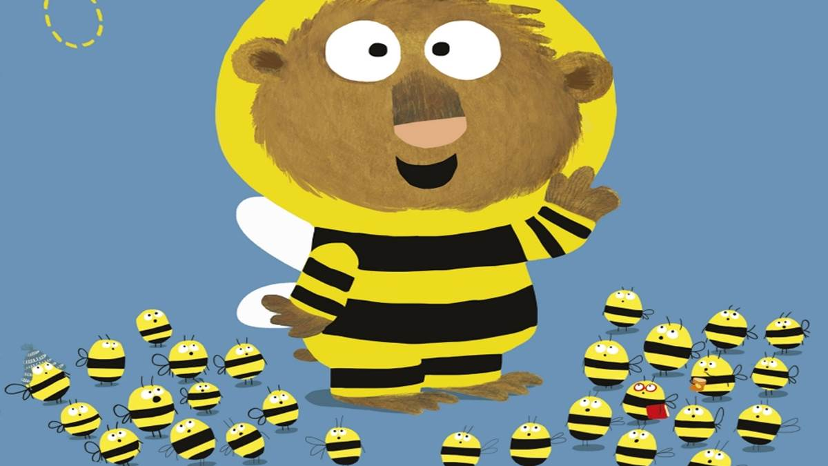 The front cover of The Bumblebear