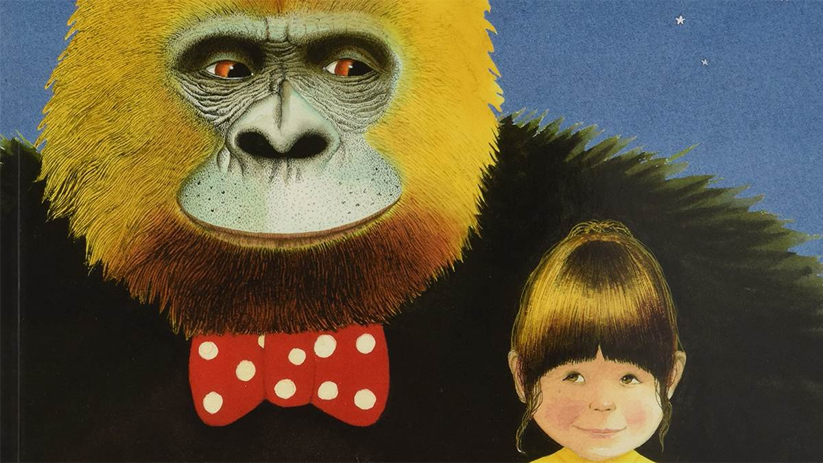 Illustration from Gorilla by Anthony Browne