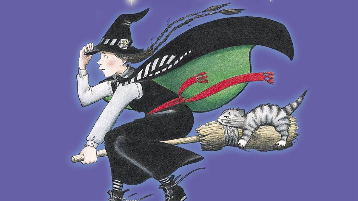 The front cover of The Worst Witch