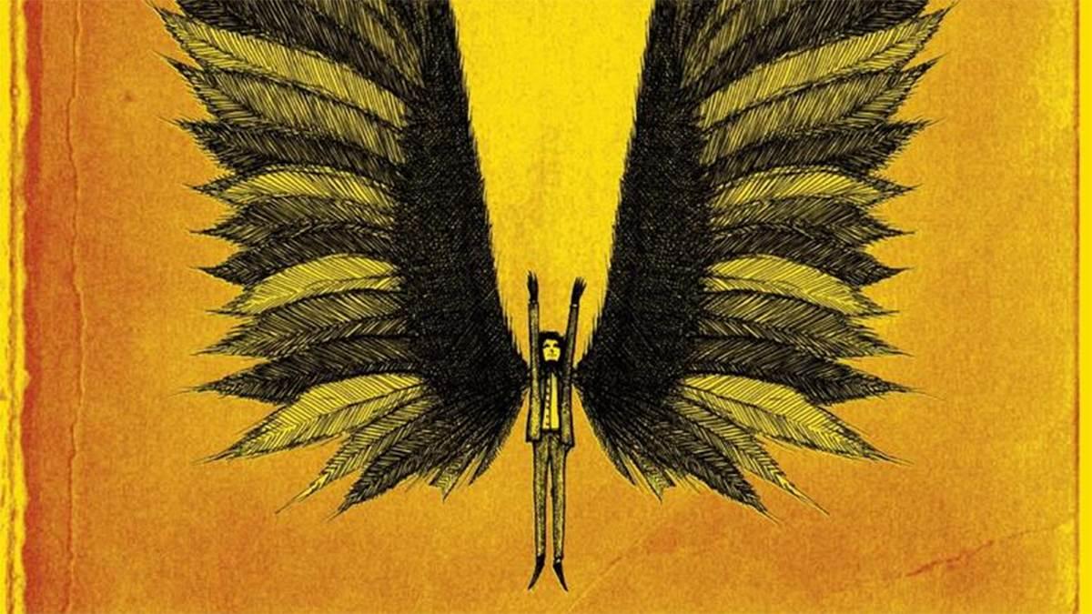 Skellig, cover illustration by Fletcher Sibthorp