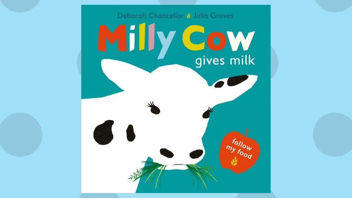 The cover of Milly Cow Gives Milk