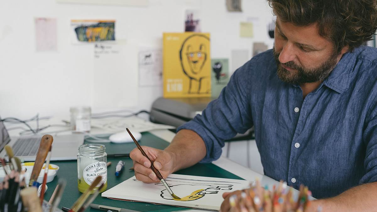 BookTrust Illustrator in Residence Ed Vere