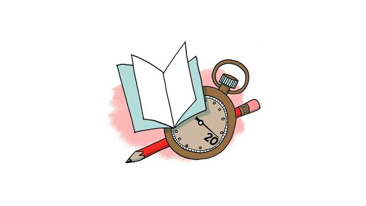 Sarah McIntyre's 20 minute book challenge