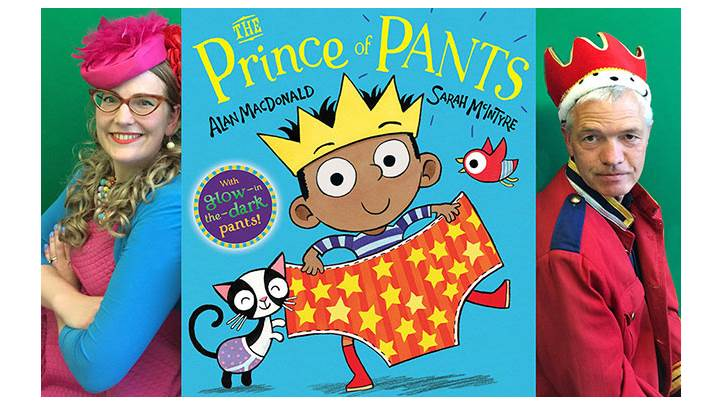 Sarah McIntyre on illustrating The Prince of Pants