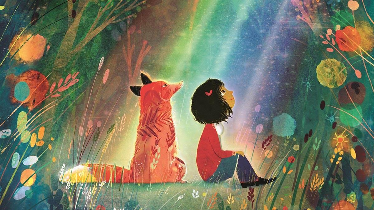 Illustration from Rain Before Rainbows by Smriti Halls and David Litchfield